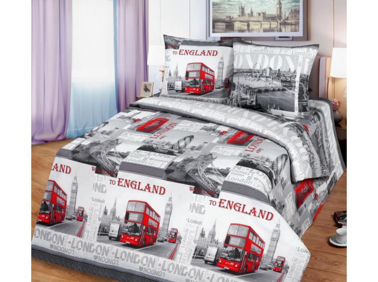 Постельное белье  Чебоксарский Текстиль КПБ Лондон вид 2 Бязь