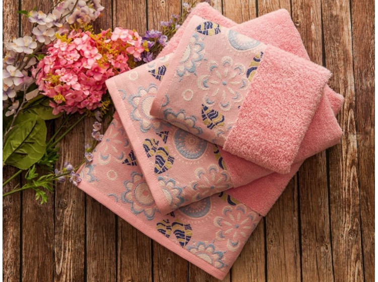 MABELLA Pembe (розовый) полотенце банное